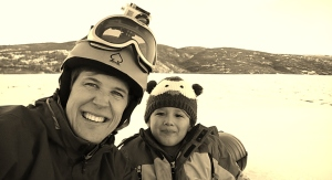 Me and Ashton Tubing at Soldier Hollow