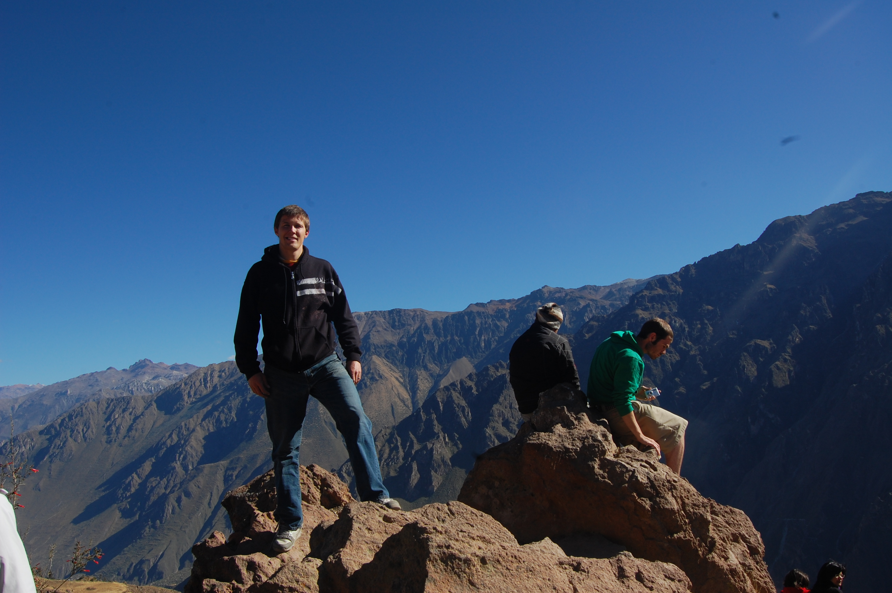 Me on lookout above Colca