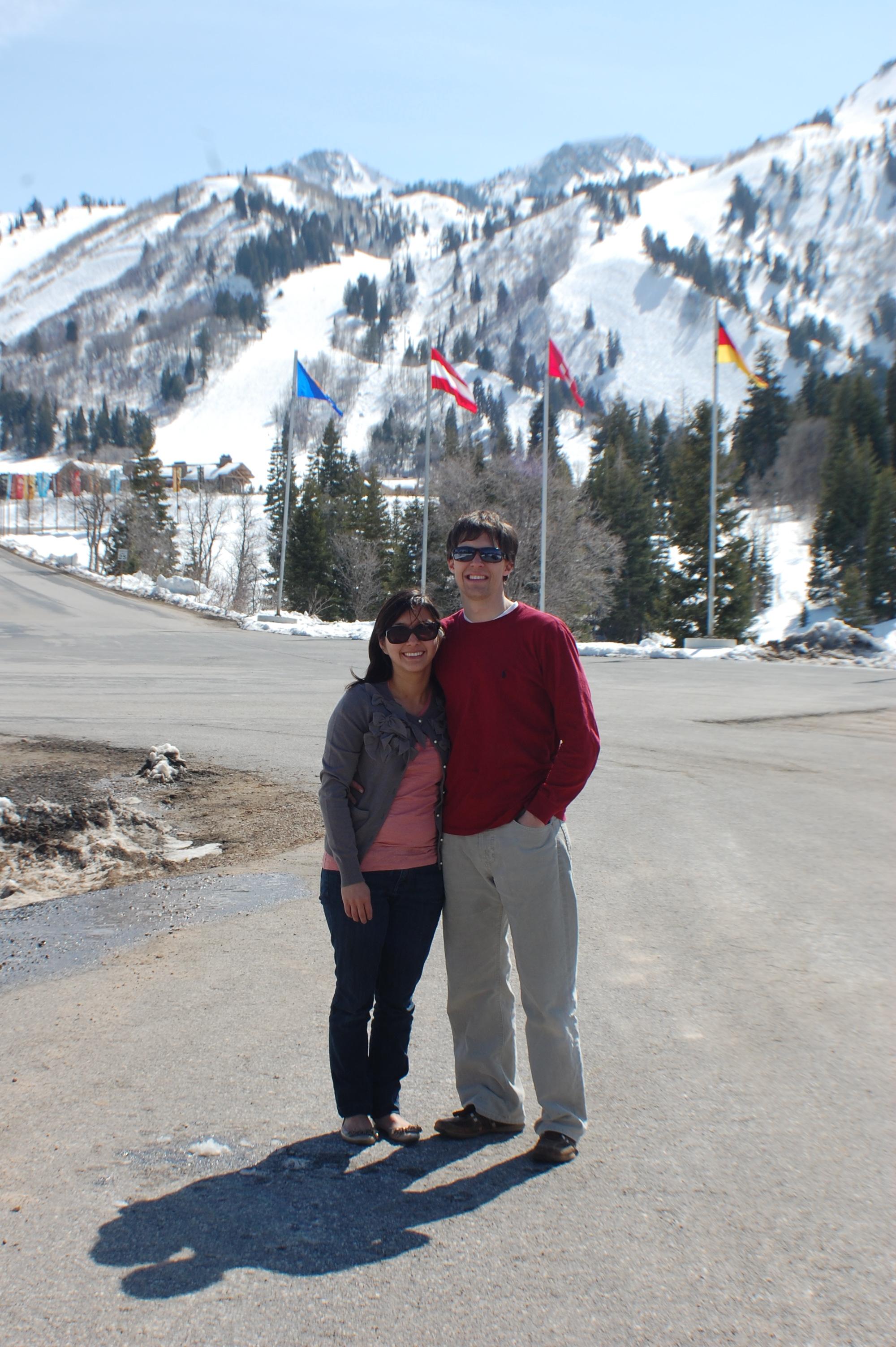 Brenda and Lorin at Snowbasin
