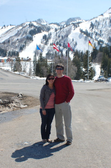 Brenda and Lorin at Snowbasin