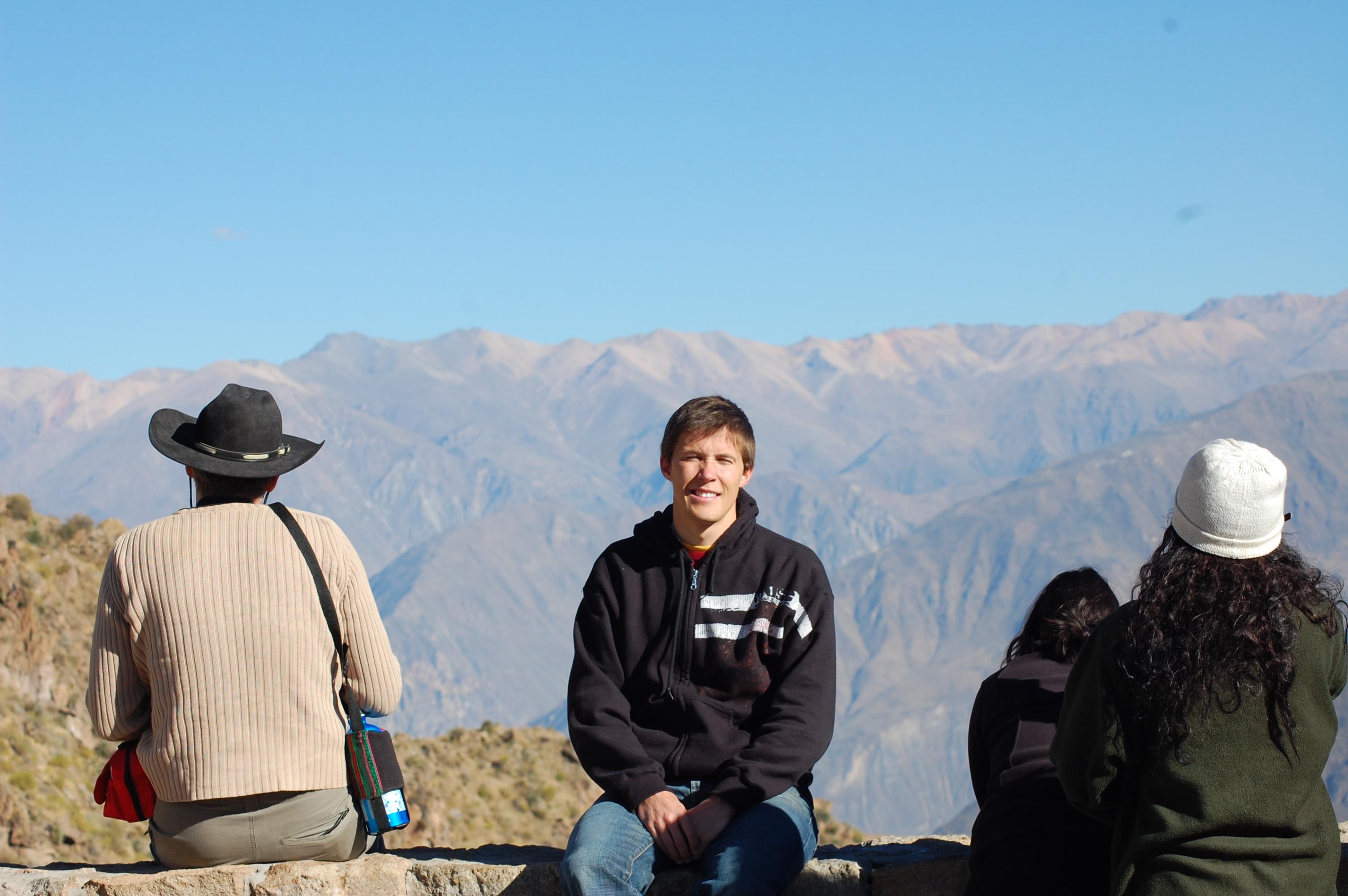 Me and Colca Canyon