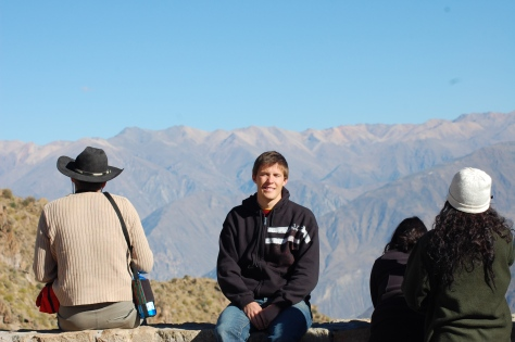 Me and Colca Canyon