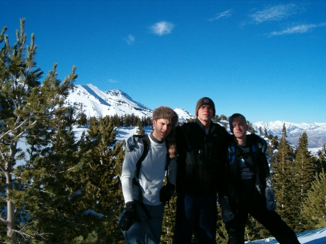 Derek, Jeremii and Ryan with Timp in back