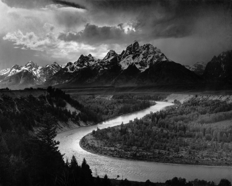 Famous Ansel Adams Shot.