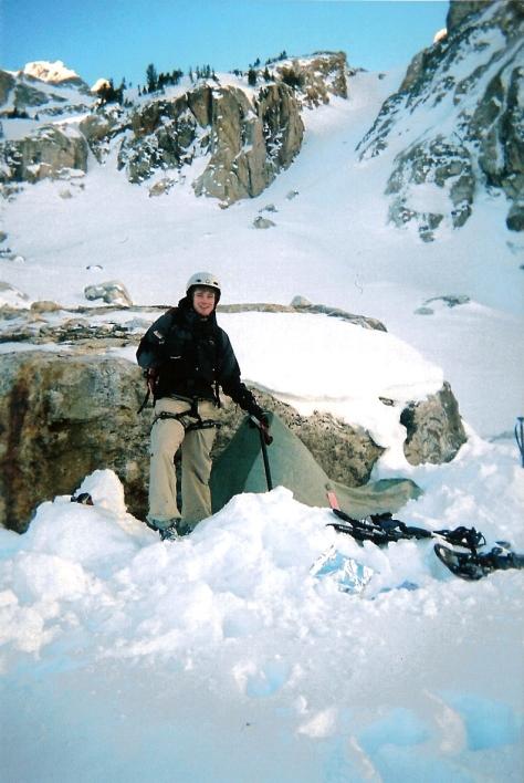 Nate at Base Camp